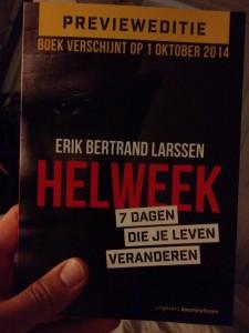 Helweek Erik Bertrand Larssen 7 dagen die je leven veranderen