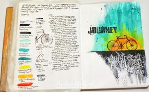 Creative art journaling