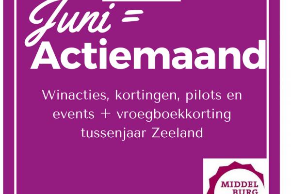 Middelburg 800 juni = actiemaand