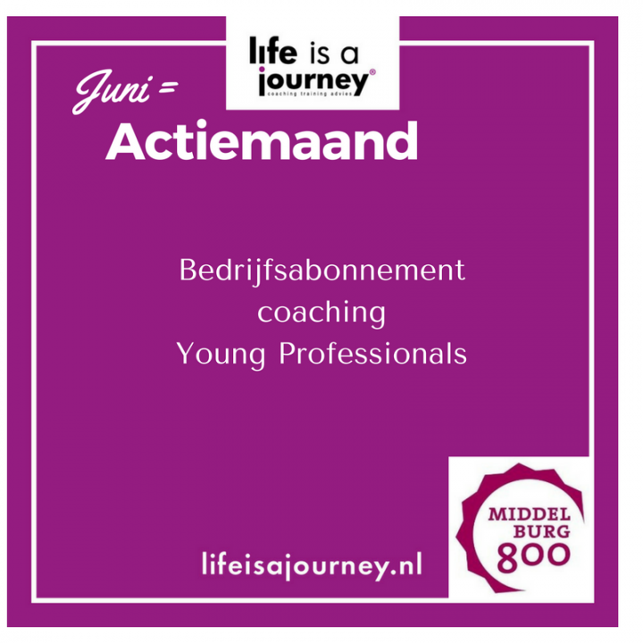 Bedrijfsabonnement coaching Young professionals