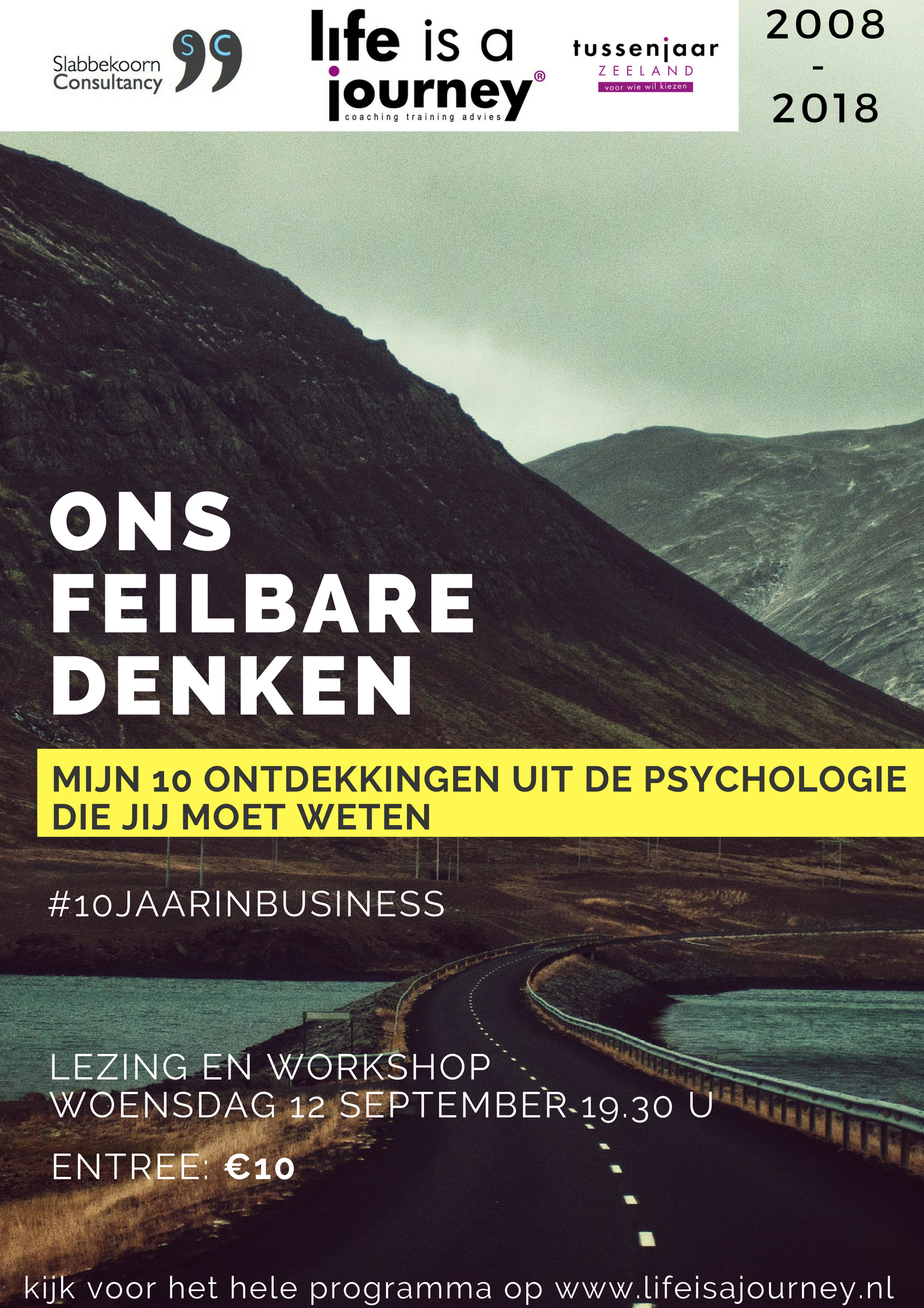 10 ontdekkingen uit de psychologie workshop 12 september